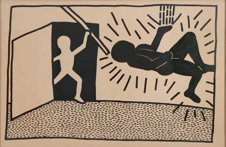 Keith Haring (1958–1990) Untitled, 1980, Collection of Jose Martos. © 2014, Keith Haring Foundation