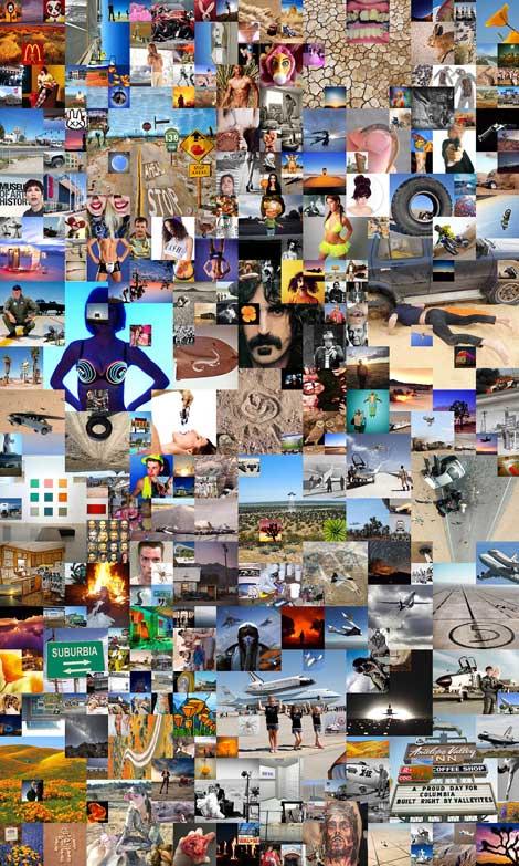 "Doug McCulloh, Google Image Search, ""Antelope Valley,""  2014"