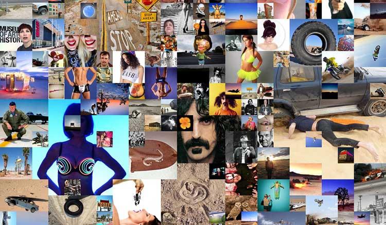 "Doug McCulloh, Google Image Search, ""Antelope Valley,""  2014 (detail)"