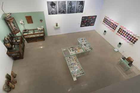 installation.shot .small  Wunderkammer at Pitzer College Art Galleries