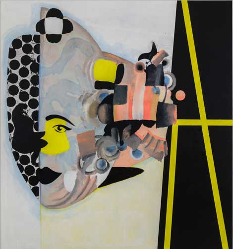 Charline von Heyl, Carlotta. 2013,Ovitz Family Collection, Los Angeles. Courtesy of the artist and Petzel, New York. Photo: Jason Mandella