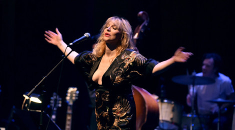 Courtney Love melts the Ace stage for the David Lynch Foundation