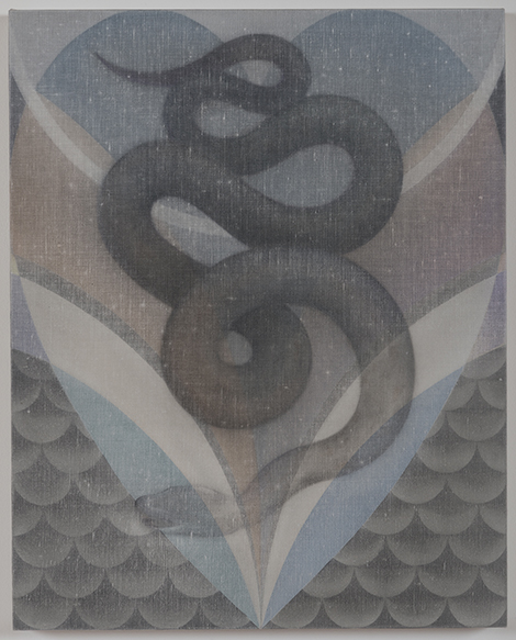 Theodora Allen, The Snake, No.2, 2014. Courtesy of the artist and Blum & Poe.