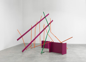 Refresh the screen:  Anthony Caro at the Gagosian Gallery
