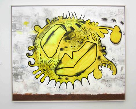 Carrol Dunham, Solar Eruption, 2000-2001, at Blum & Poe.