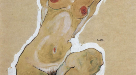 Squatting Female Nude, 1910.