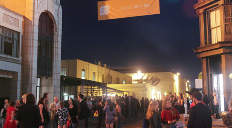 Paris Photo Los Angeles 2015: Opening night New York Street Backlot at the Paramount Pictures Studios © Calvin Lee / Paris Photo.