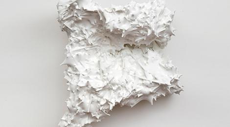 Julia von Eichel, Untitled (collapsing), 2014, photo by Adam Reich.
