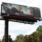 Shana Lutker, Onward and Upward, 10 billboards, Jackonville, FL, 2013.  A LAND Exhibition: The Manifest Destiny Billboard Project.