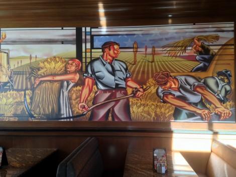 Mural in BJ's.