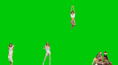 "Petra Cortright, still from ""Niki, Lucy, Lola, Viola"""