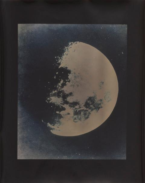 Lisa Oppenheim, American, born 1975 Lunagrams #5, 2010 Gelatin silver print exposed with moonlight, toned