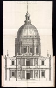 Elevation and dome, Les Invalides, Paris