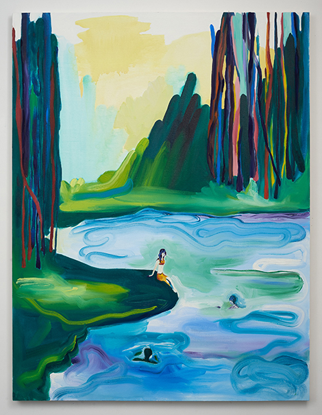 By Morning We Jumped in the Crisp Water Edith Beaucage
