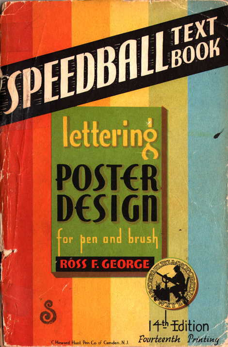 speedball lettering design UNDER THE RADAR