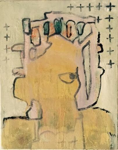 Julia Schwartz, Untitled (head), 2015