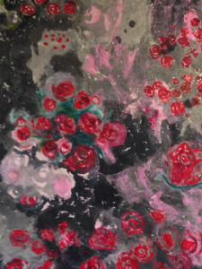 KarenFinley LF roses CC 225x300 Trust the Momentum – Karen Finley:  Love Field