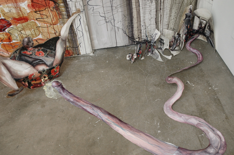 "Shiri Mordechay, ""Pneuma Pleats,"" 2010, (detail)."