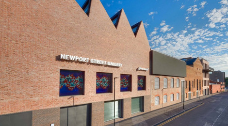 Exterior of Newport Street Gallery.
