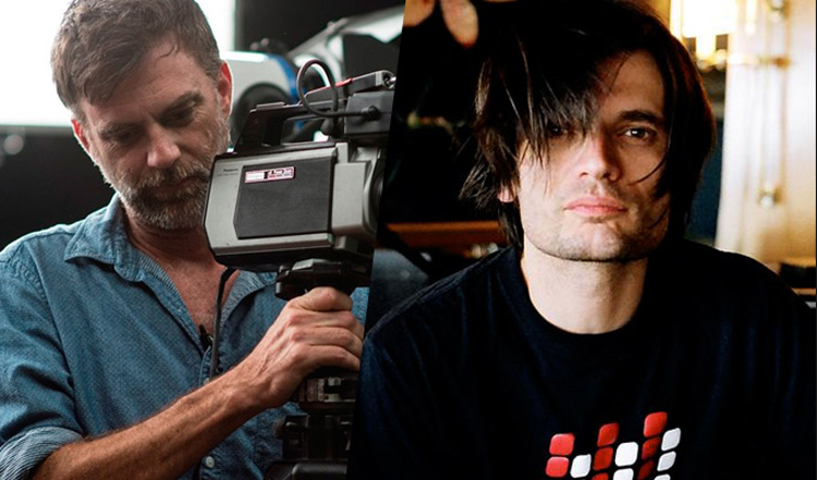 Paul Thomas Anderson and Jonny Greenwood in Junun.