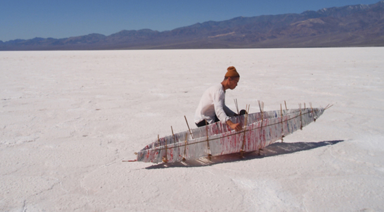 Nuttaphol Ma, Born by the River, 2011, (Day 01: Badwater Basin. 282 feet below sea level.
