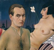 Christian Schad Self Portrait 1927