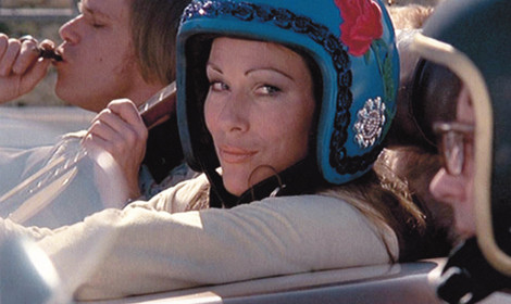 Mary Woronov as Calamity Jane in Death Race 2000, 1975.