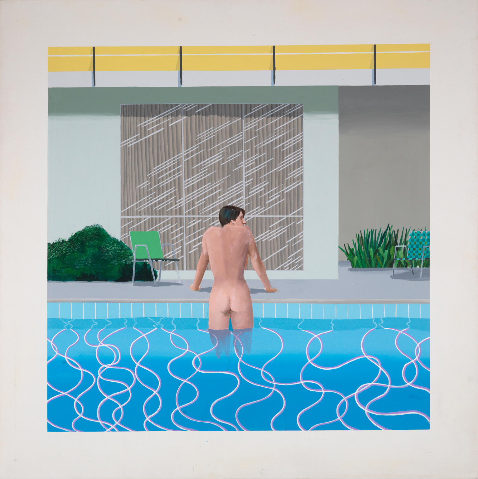 Art lies and film docs artillery magazine - David hockney swimming pool paintings ...