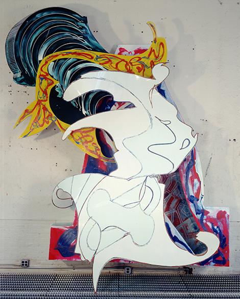 056 FS Frank Stella: A Retrospective <h6 class=sub>@Whitney Museum of American Art/New York City</h6>