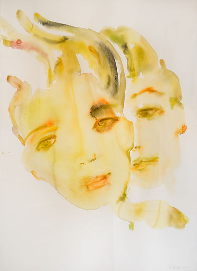 Kim McCarty, Double Portrait, 2015