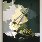 Kota Ezawa,The Storm on the Sea of Galilee, 2015, courtesy of the artist and Christopher Grimes Gallery, Santa Monica, CA