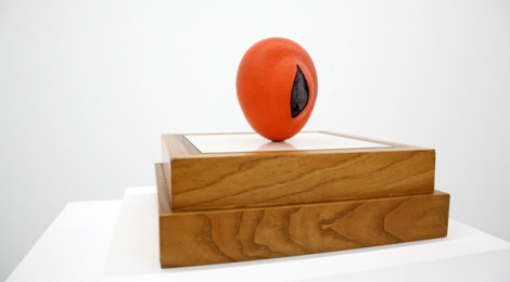 Ken Price, Orange, 1964, fired ceramic, courtesy Parrasch Heijnen Gallery.