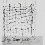 ClaudiaParducci, Murrah Building Rope Drawing 2, 2015, image courtesy of the artist and Ochi Projects.