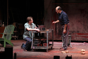 Paul David Story and Mark Harelik in John Logan's Red at South Coast Repertory. Photo by Debora Robinson-SCR
