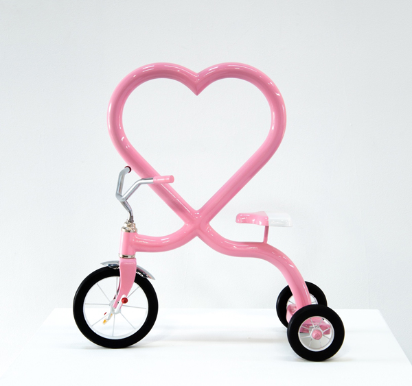 garcia Pink Heart mini trike Fueled by Youth