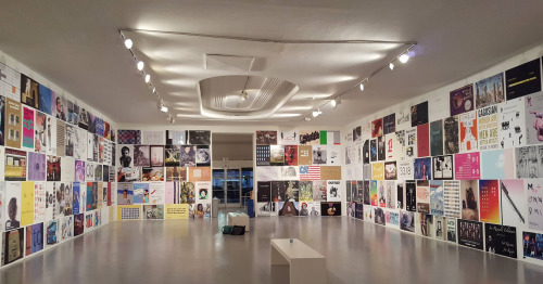 The Gallery Tally Poster Project, installation view, courtesy of LACE.