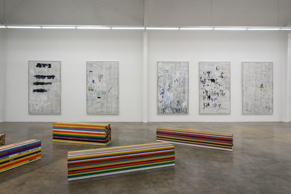 "Mark Dutcher, ""Time Machine,"" installation view, courtesy of the artist and Jason Vass."