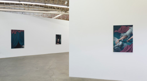 "Jesse Mockrin, ""The Progress of Love,"" installation view, courtesy of the artist and Night Gallery."
