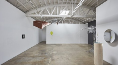 "Rebecca Ripple, ""Surface Tension,"" Installation view, courtesy of the artist and Klowden Mann."