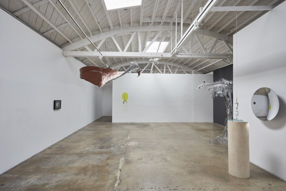 """Rebecca Ripple, """"Surface Tension,"""" Installation view, courtesy of the artist and Klowden Mann."""