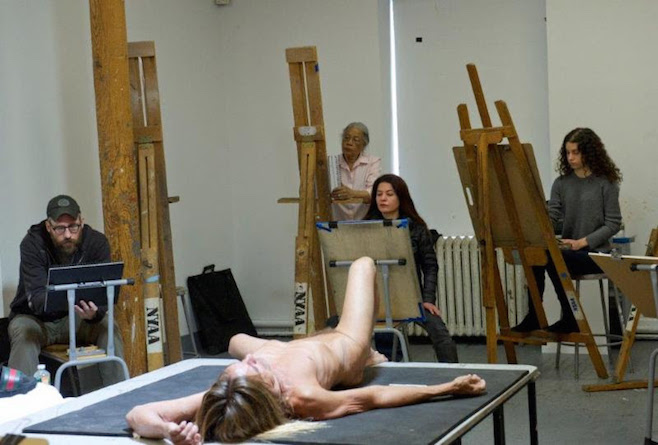 Jeremy Deller Serves up a Nude Iggy Pop for the New York Academy of Art