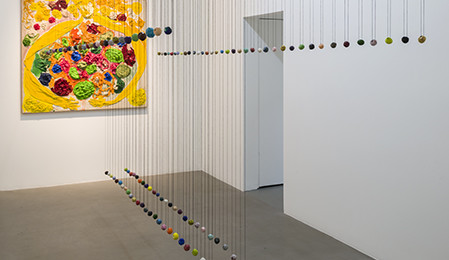 PollyApfelbaum DonnaNelson installation view01 449x260 <ns>Gallery Rounds</ns>