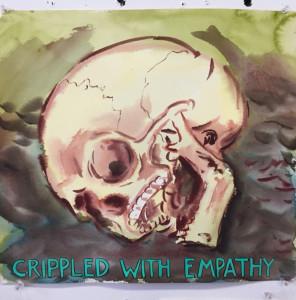 "Smit CrippledEmpathy 296x300 ""Distracted Mourning"" – Guy Richards Smit's Mountain of Skulls"