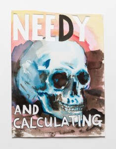 "Smit NeedyCalc 235x300 ""Distracted Mourning"" – Guy Richards Smit's Mountain of Skulls"