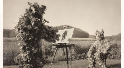 Action Painter, 2014, © Kahn & Selesnick, courtesy Kopeikin Gallery
