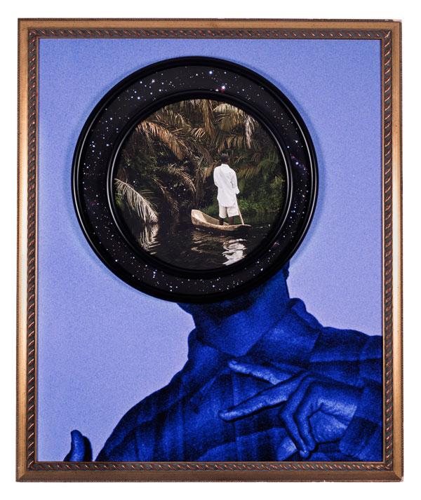 TG Gang Star 47.5 x 39 x 2 in Todd Gray's Framing of Identity