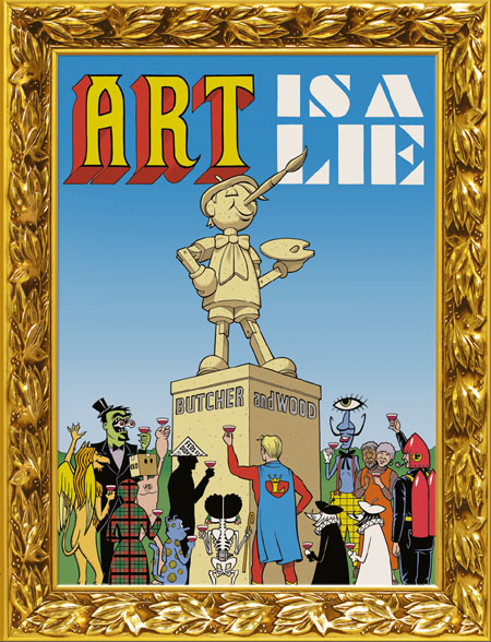 art is a lie cover 1 ****New Front page