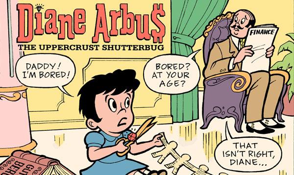 comic Arbus teaser Comics