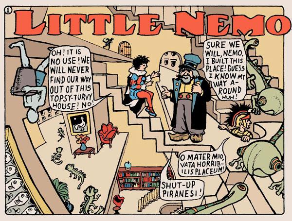 little nemo teaser Comics