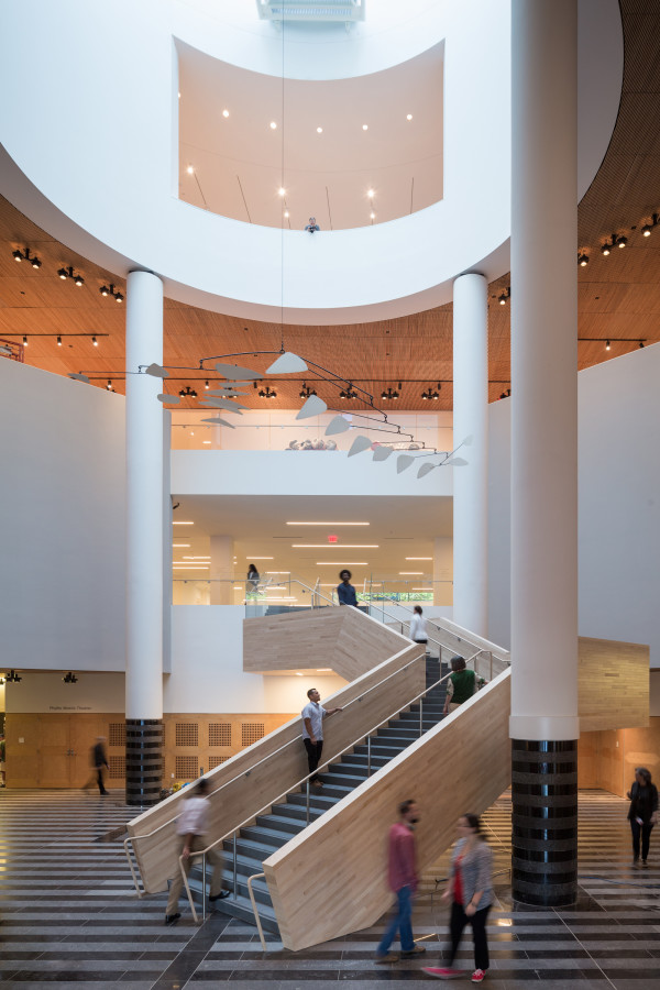 The Evelyn and Walter Haas, Jr. Atrium at the new SFMOMA; photo © Iwan Baan, courtesy SFMOMA